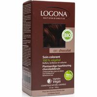 Logona Soin colorant en poudre 091 chocolat