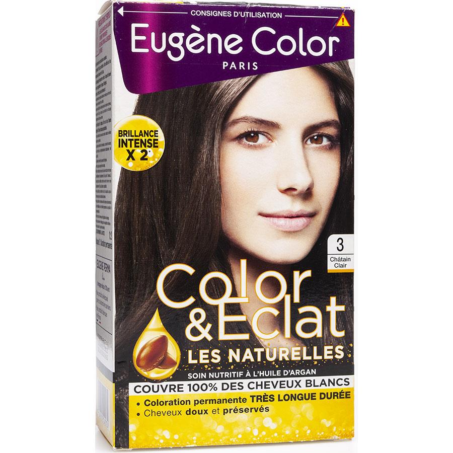 Eugène Color Color & Eclat, Les naturelles, 3 châtain clair -