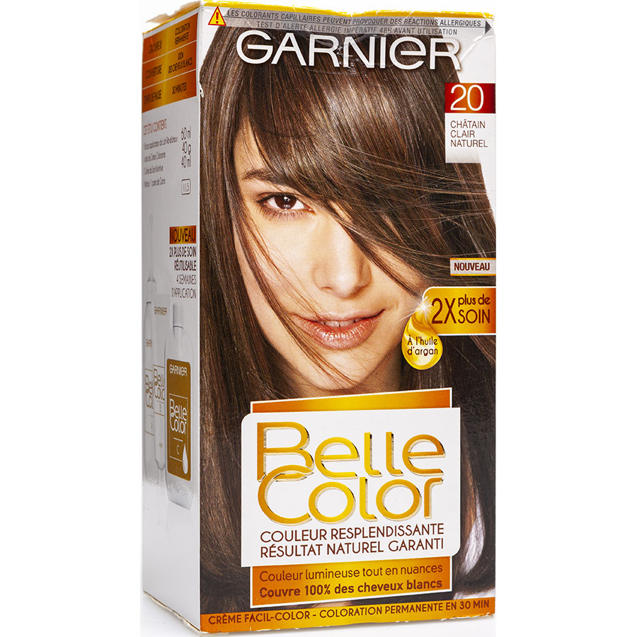 Garnier Belle Color, 20 châtain clair naturel -