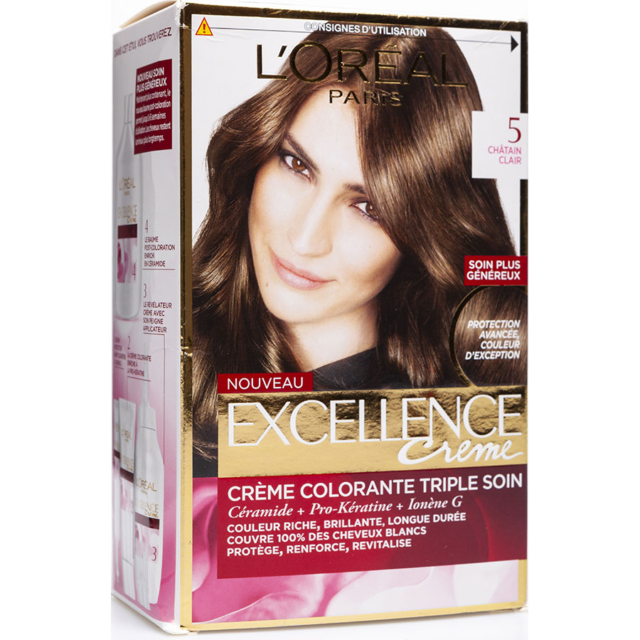 L'oreal coloration cheveux chatain clair