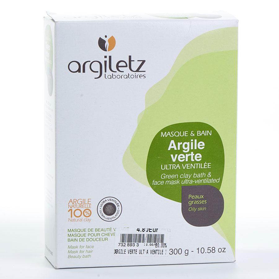 Argiletz Argile verte ultra ventilée -