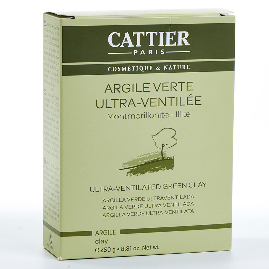 Cattier Argile verte ultra ventilée -