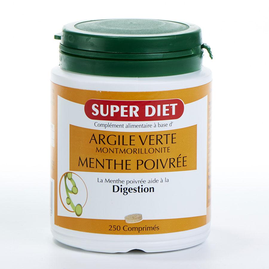 Super Diet Argile Verte menthe poivrée -