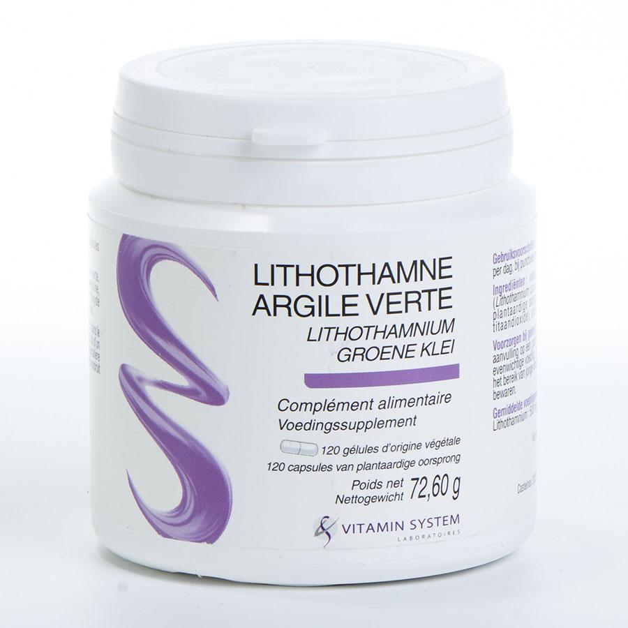 Vitamin System Lithothamne argile verte -