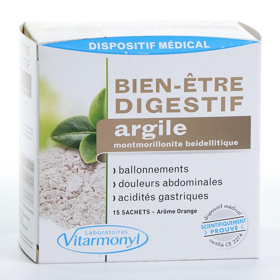 Vitarmonyl Bien-être digestif argile -