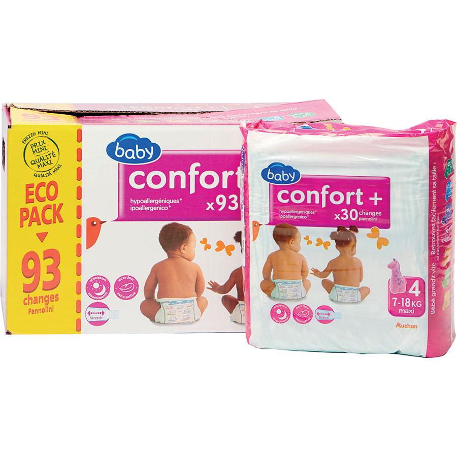 Test Baby Auchan Confort Couches Pour Bebes Ufc Que