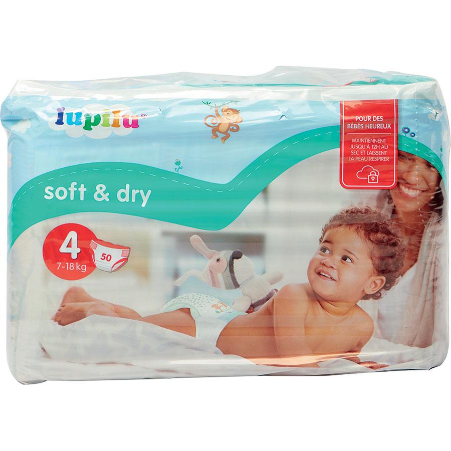 Test Lupilu Lidl Soft Dry Couches Pour Bébés Ufc Que