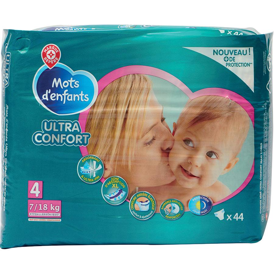 Test Mots Denfants Leclerc Ultra Confort Couches Pour Bébés