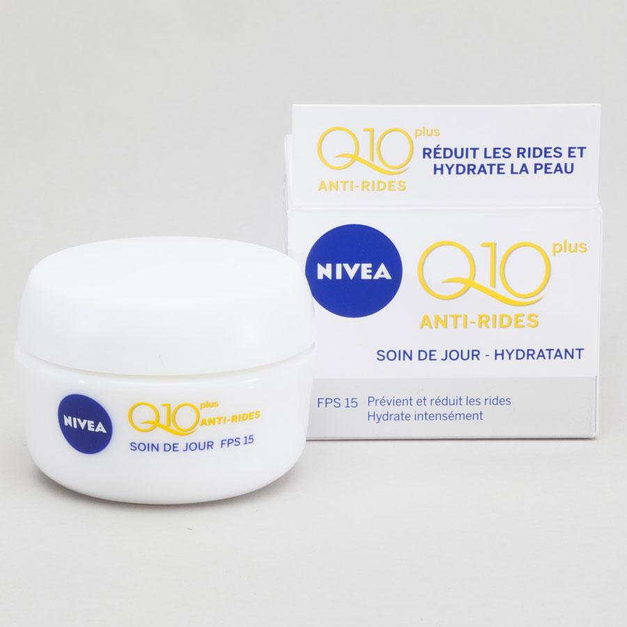 Nivea Q10 plus antirides, soin de jour hydratant, FPS 15 -