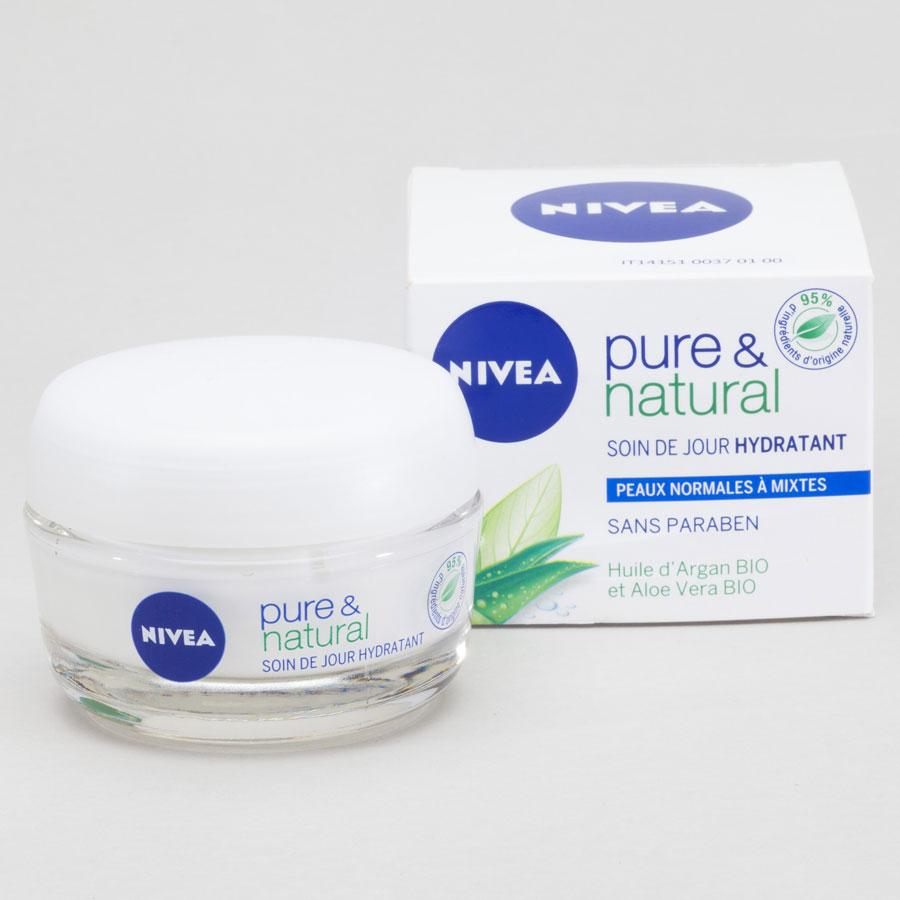 Nivea Soin de jour hydratant pure &natural -