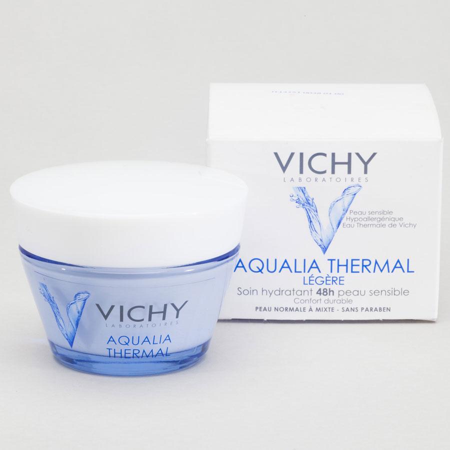 Vichy Aqualia thermal légère - soin hydratant 48 h peau sensible -