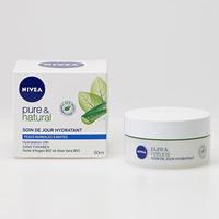 Nivea Pure & Natural, soin du jour hydratant - Vue principale