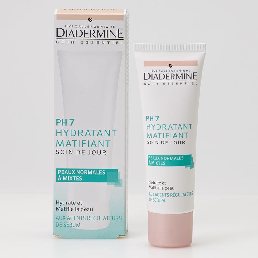 Diadermine PH7 hydratant matifiant soin de jour - Vue principale