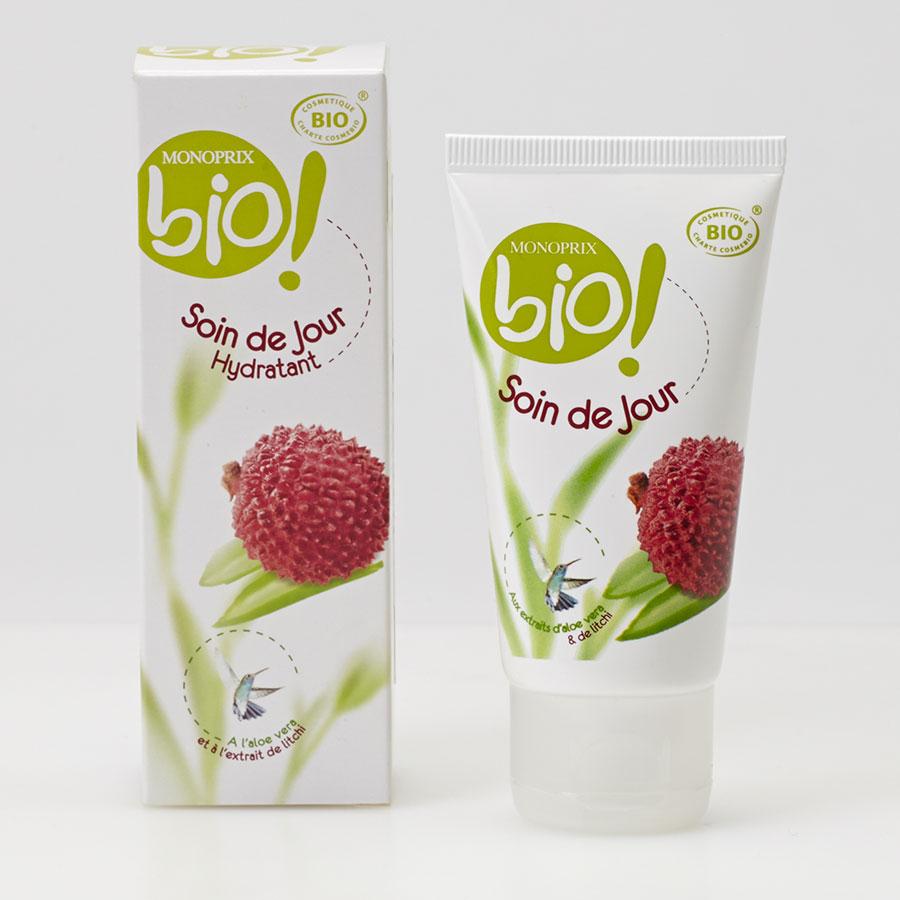 Monoprix Bio Soin de jour hydratant - Vue principale
