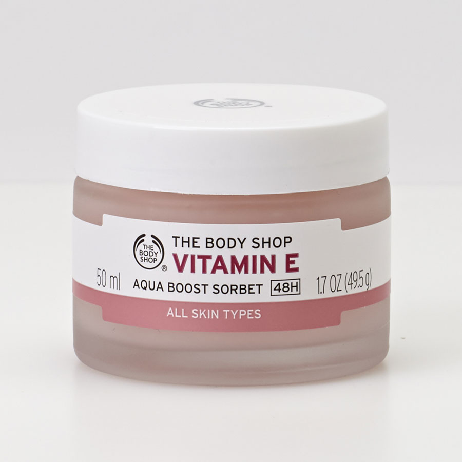 The Bodyshop Vitamin E Aqua boost sorbet - Vue principale