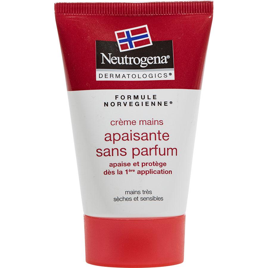 Neutrogena Crème mains apaisante sans parfum -