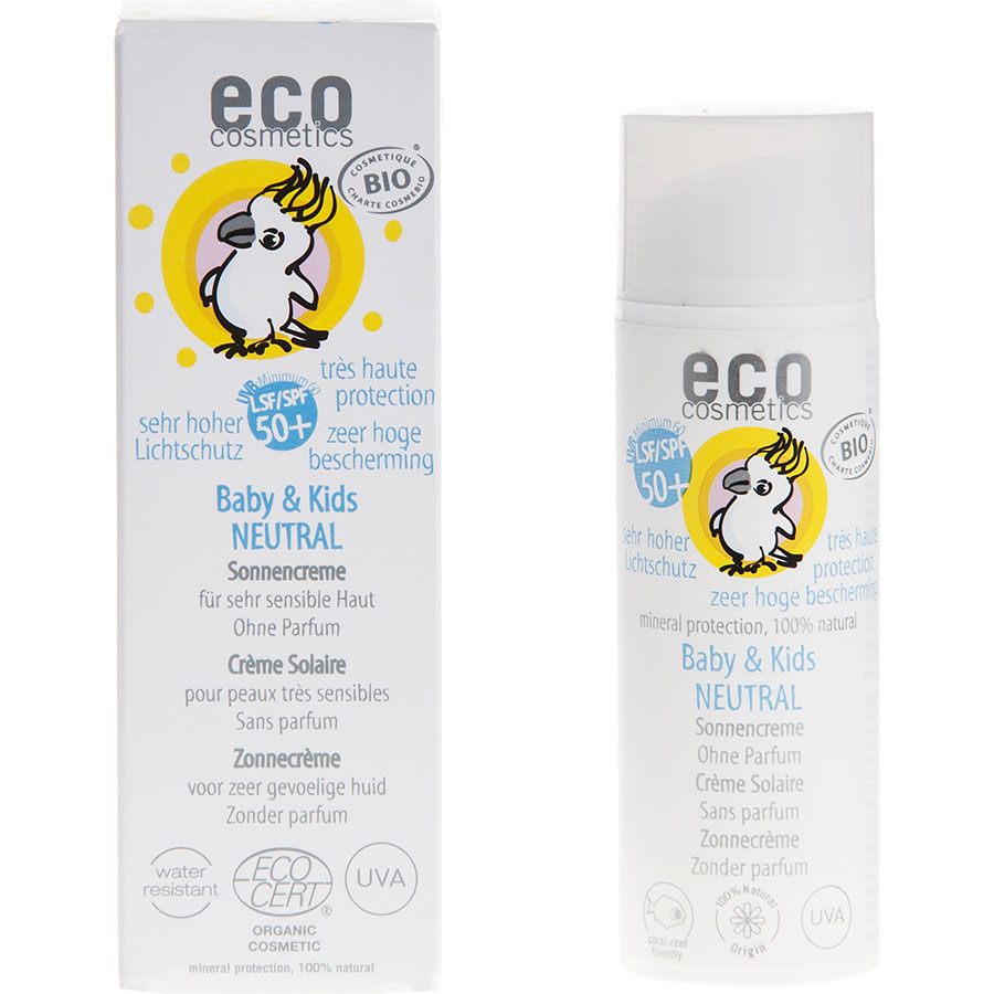 Eco Cosmetics 50+ Baby & Kids Neutral sans parfum -