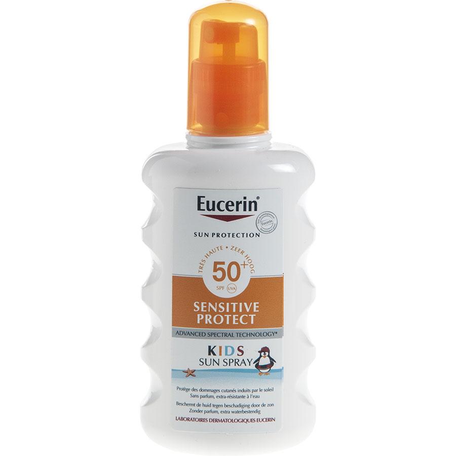 Eucerin 50+ Sensitive protect kids sun spray -