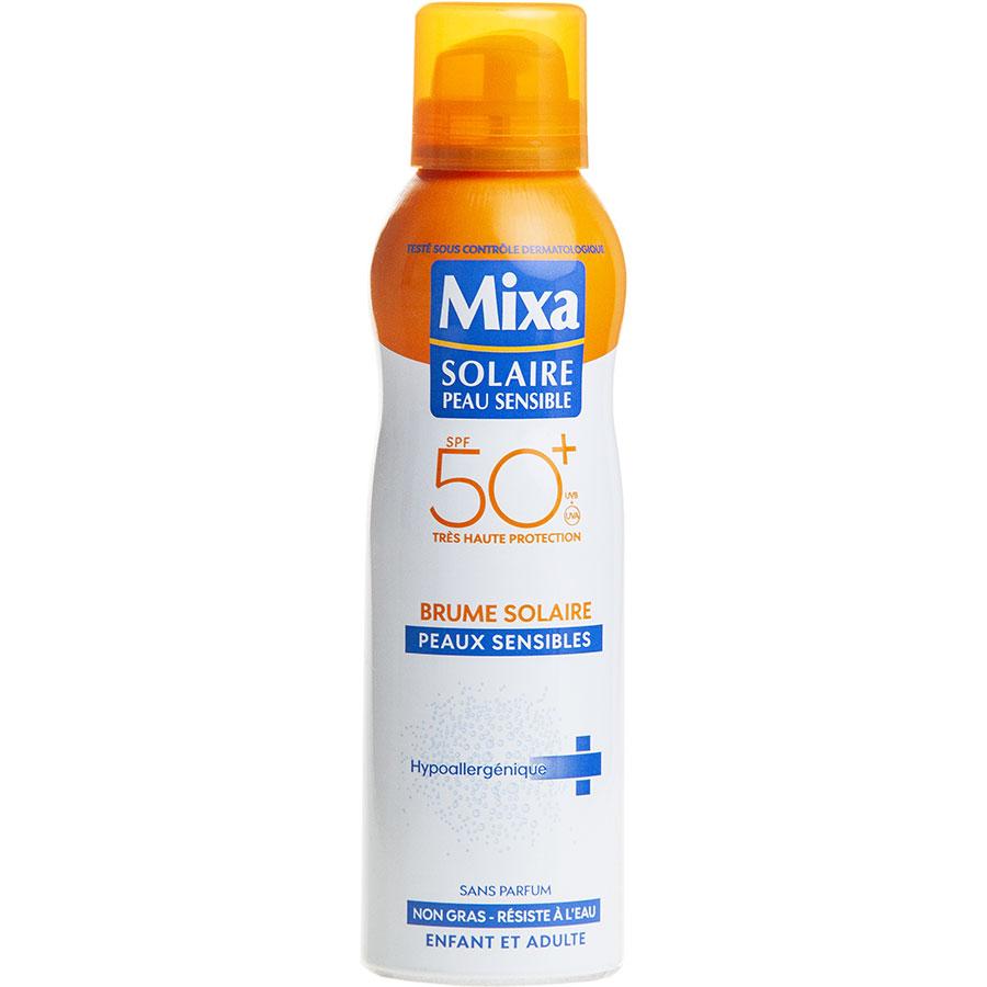 Mixa Solaire peau sensible 50+ Brume -