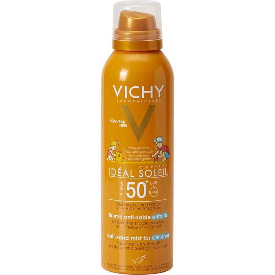 Vichy Idéal Soleil 50+, Brume anti-sable enfants -