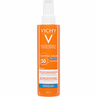Vichy Capital soleil Beach Protect spray anti-déshydratation – Indice 30 								-