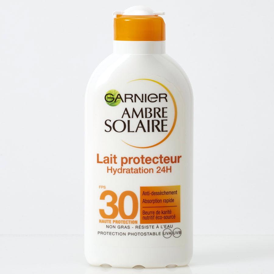 test ambre solaire lait protecteur anti dess chement cr me solaire ufc que choisir. Black Bedroom Furniture Sets. Home Design Ideas