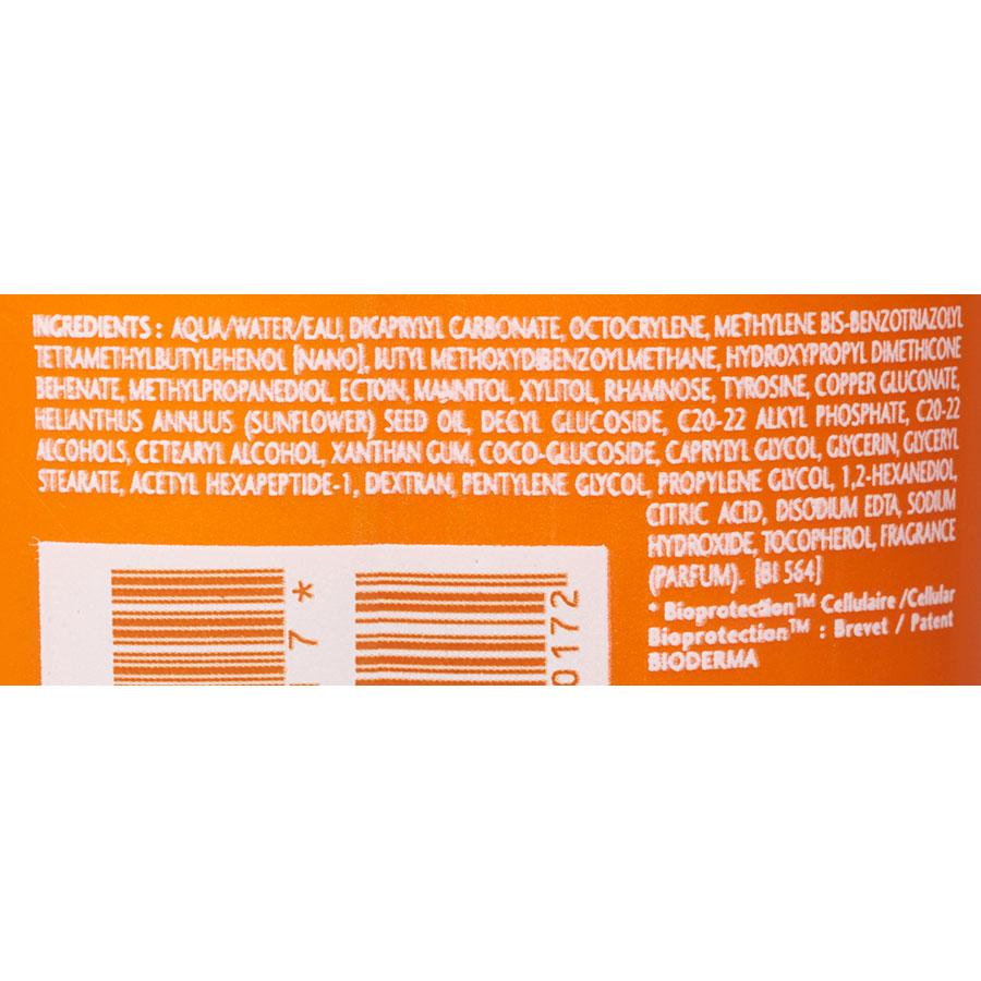 Bioderma Photoderm Bronz – Indice 30 - Liste des ingrédients