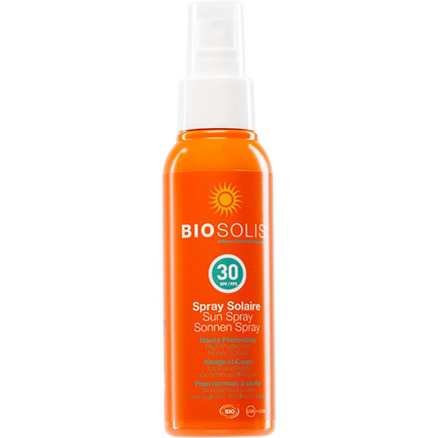 Biosolis Spray solaire – Indice 30 -