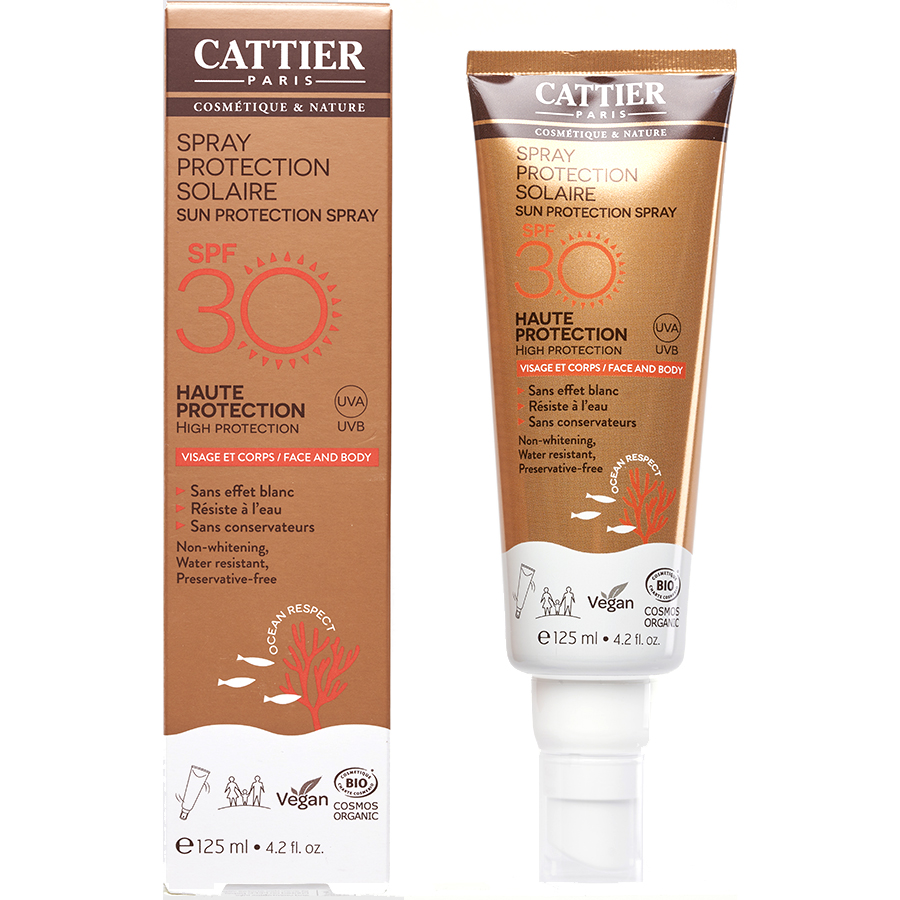 Cattier Spray protection solaire -