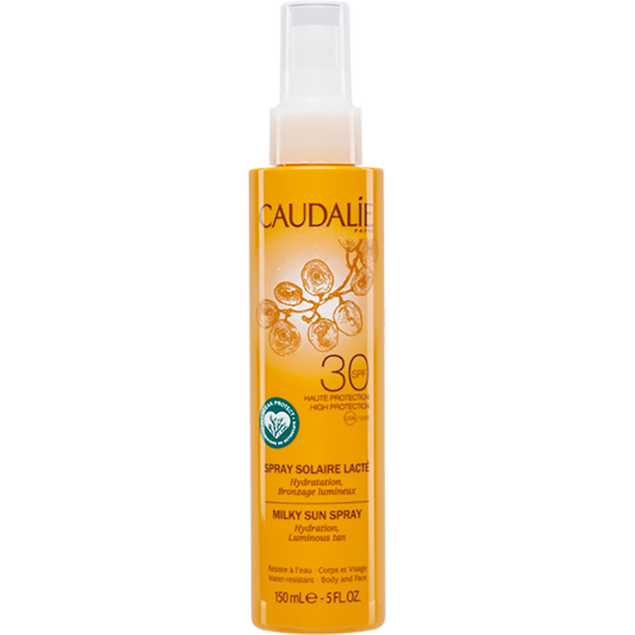 Caudalie Spray solaire lacté – Indice 30 -