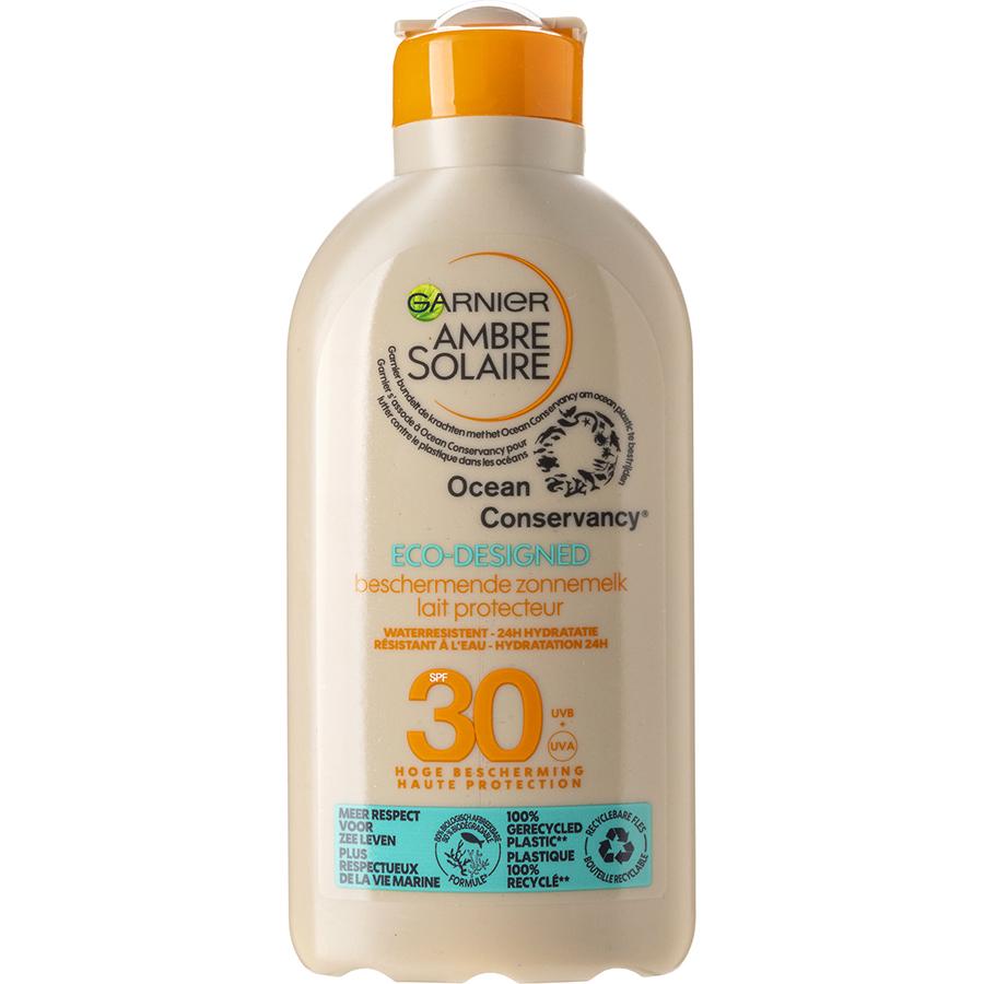 Garnier Ambre Solaire Ocean Conservancy lait haute protection éco-conçu -