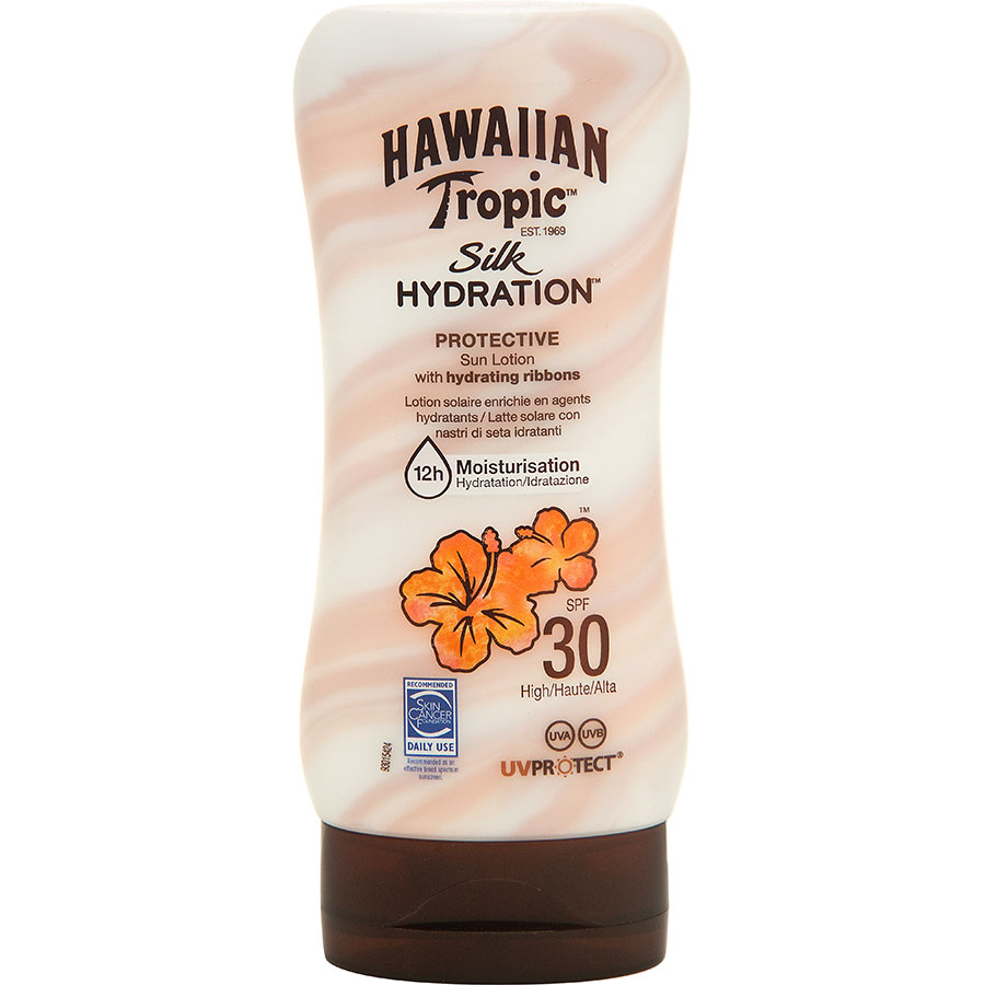 test hawaiian tropic silk hydration cr me solaire ufc que choisir. Black Bedroom Furniture Sets. Home Design Ideas