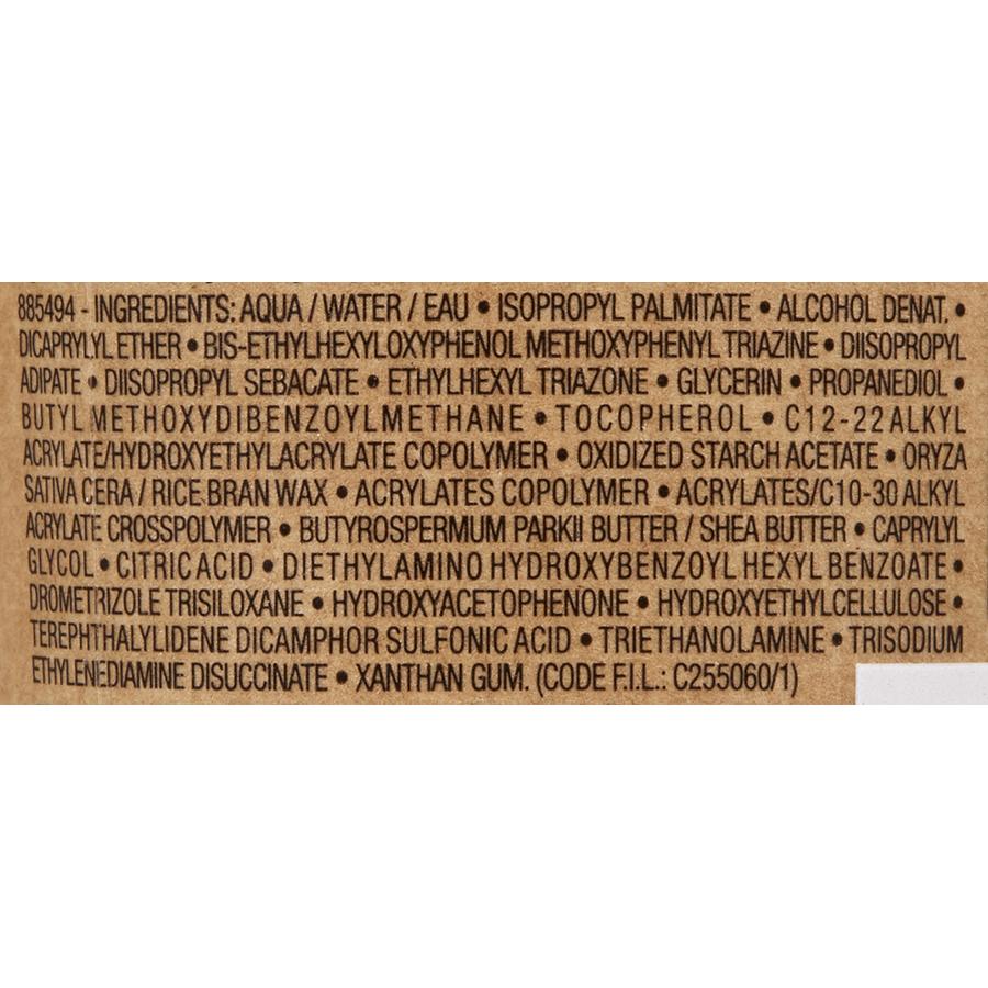 La Roche-Posay Anthelios lait hydratant éco tube - Liste des ingrédients