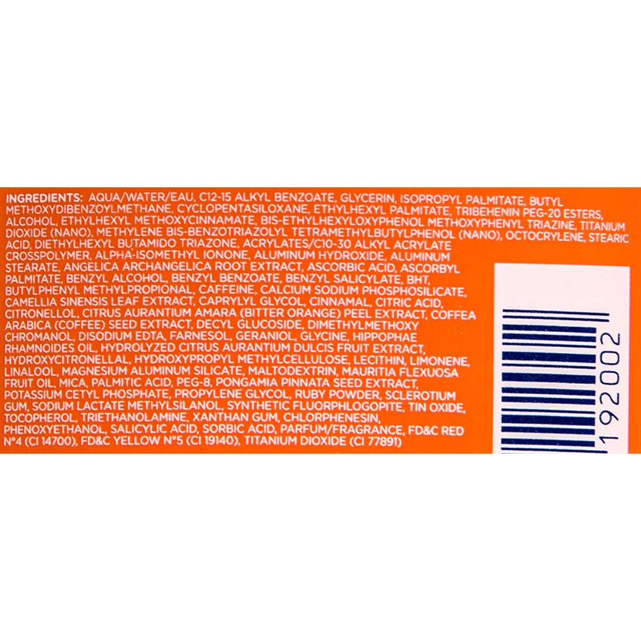 Lancaster Sun Beauty lait velours - Liste des ingrédients