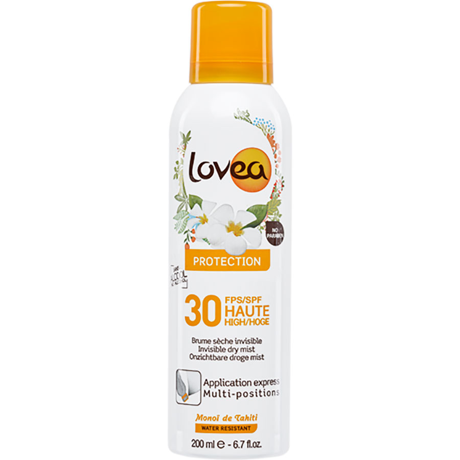 Lovea Protection Brume sèche invisible – Indice 30 -