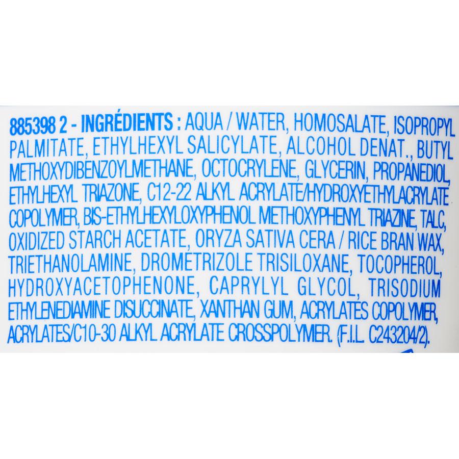 Mixa Lait solaire peaux sensibles – Indice 30 - Liste des ingrédients