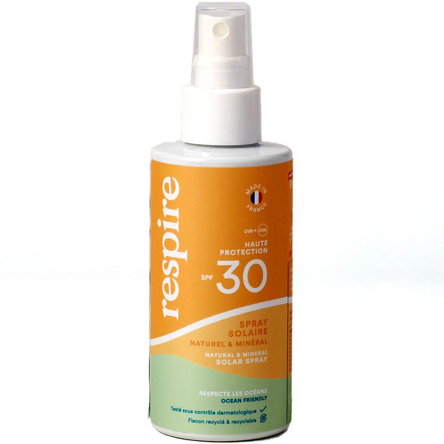 Respire Spray solaire naturel & minéral -