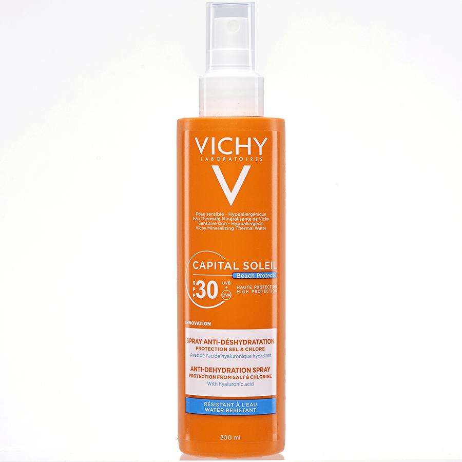 Vichy Capital soleil Beach Protect - Spray anti-déshydratation -