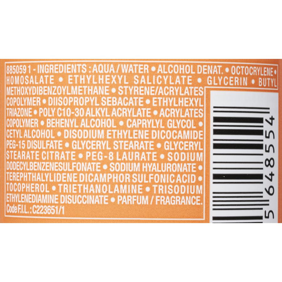 Vichy Capital soleil Beach Protect - Spray anti-déshydratation - Liste des ingrédients