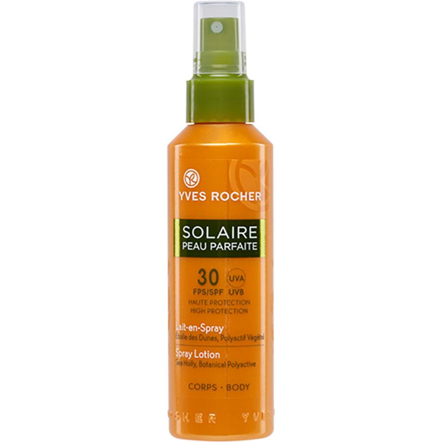 Yves Rocher Solaire peau parfaite lait-en-spray corps – Indice 30 -