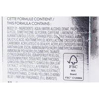Biotherm Celluli Eraser - Liste des ingrédients