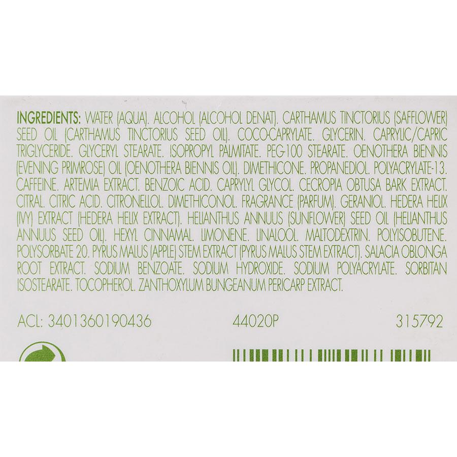 Elancyl Slim Design nuit - Liste des ingrédients