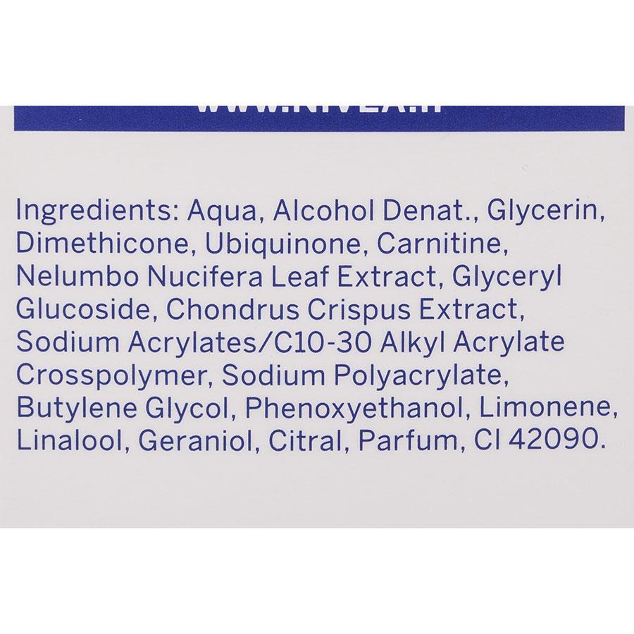 Nivea Good-bye cellulite, gel-crème fermeté - Liste des ingrédients