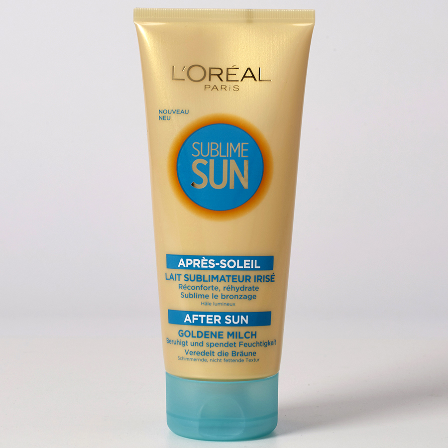 L'Oréal Sublime sun lait sublimateur irisé -