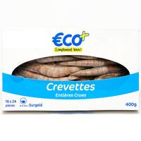 Eco+ Crevettes crues