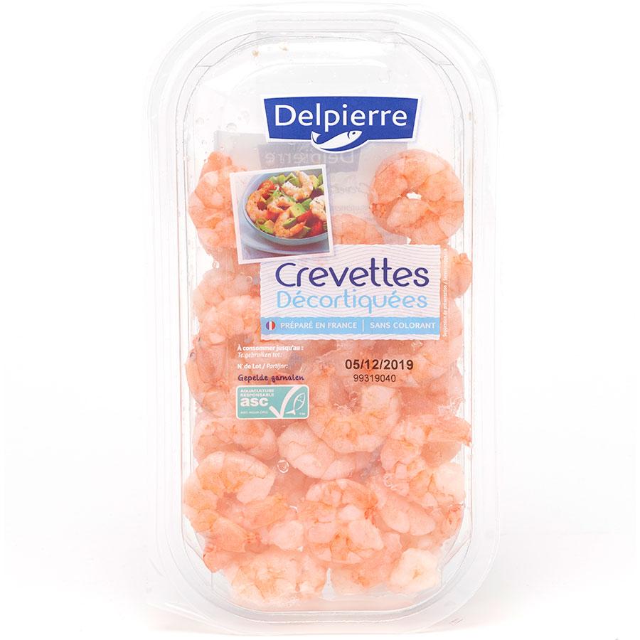 Delpierre Crevettes décortiquées cuites -