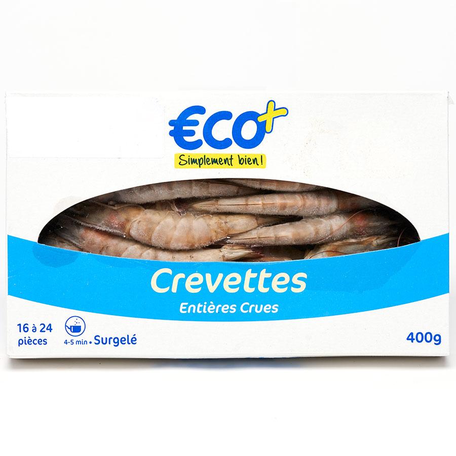 Eco+ Crevettes crues -