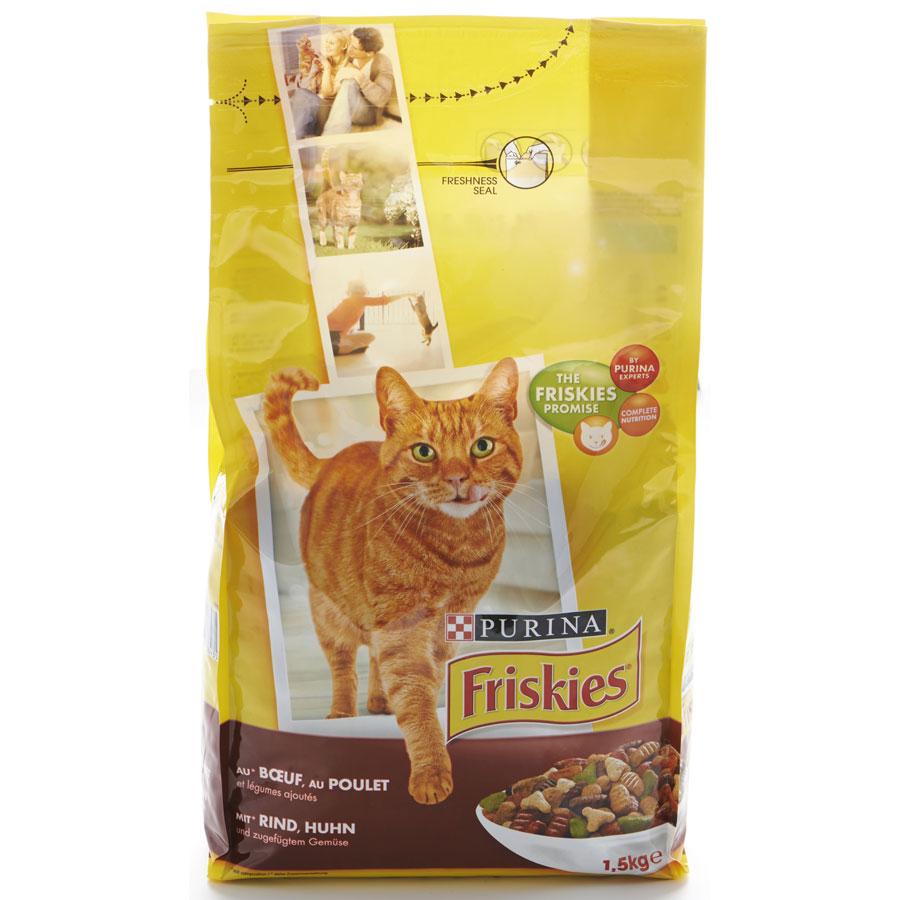 Friskies (Purina) Bœuf, poulet et légumes -