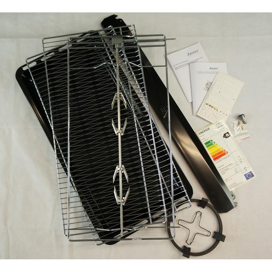 Sauter SCM1390X - Accessoires fournis