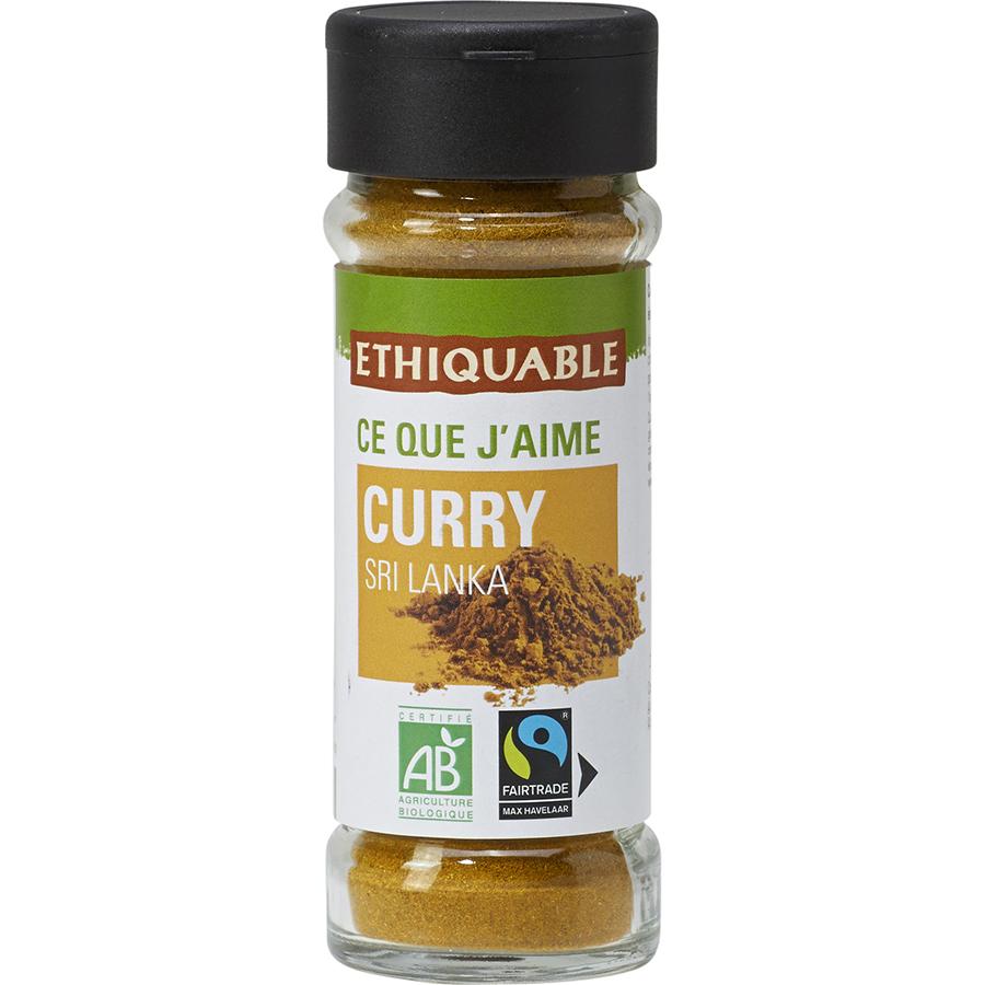Ethiquable Curry Sri Lanka bio -
